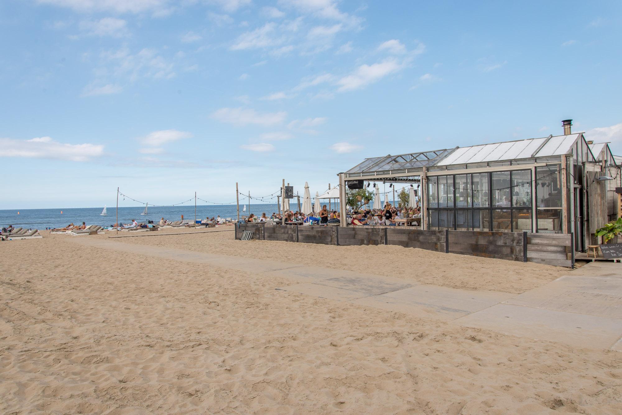 strandtent noordwijk aan zee branding beachclub